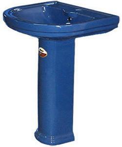 Умывальник тюльпан Монако VI 3 (820x700x600) синий