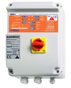 Qed 2 TRI электронный пульт управления для 2 погружных насосов Pedrollo