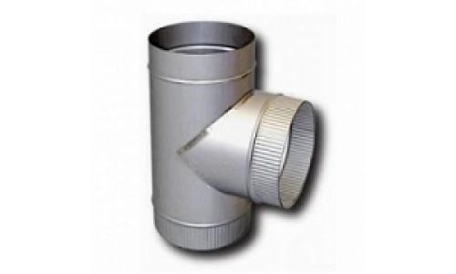 Тройник 90° нерж. (0,5 мм) D=150 купить недорого в Москве