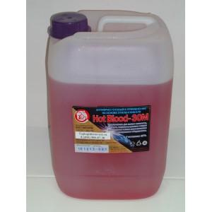 Антифриз для отопления Hot Blood 30 М (Хот Блад 30 М) 1 литр.