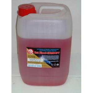 Антифриз для отопления Hot Blood комфорт 40 М (Хот Блад 40) 1 литр.