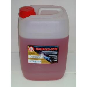 Антифриз для отопления Hot Blood 65 М (Хот Блад 65 М) 1 литр.