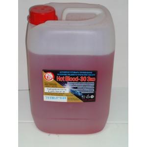 Антифриз для отопления Hot Blood 65 Эко (Хот Блад 65 Эко) 1 литр.