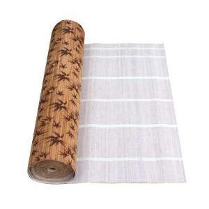 """Бамбуковые обои """"Листья бамбука коричневые"""" Рулон 10000х 900 мм"""