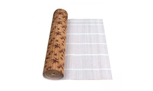 """Бамбуковые обои """"Листья бамбука коричневые"""" Рулон 10000х1500 мм купить недорого в Москве"""