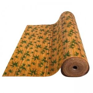 """Бамбуковые обои """"Листья бамбука зеленые"""""""