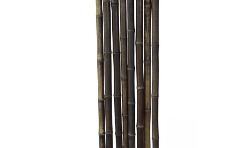 Бамбуковый ствол черно-коричневый Диаметр ствола 1,8-2 см, L 2 м купить недорого в Москве