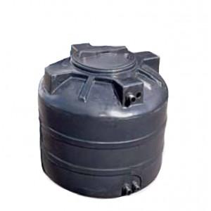 Бак для воды ATV 2000 литров ( черный ) с поплавком