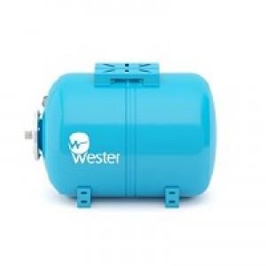 Бак мембранный для водоснабжения горизонтальный Wester WAO150