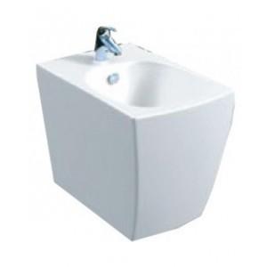 Белое подвесное биде Style Lux (560х370х370)