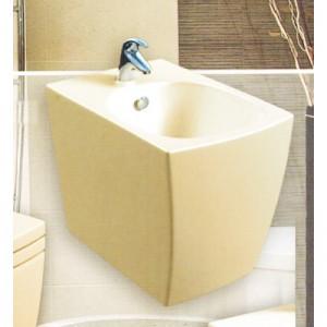 Бежевое подвесное биде Style Lux (560х370х370)