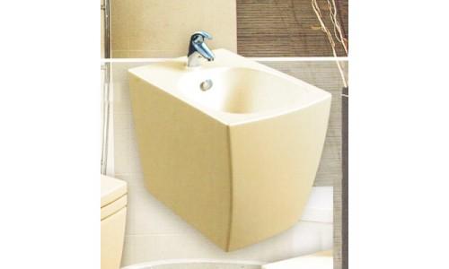 Бежевое подвесное биде Style Lux (560х370х370) купить недорого в Москве