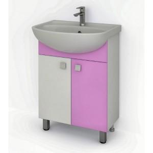 Тумба ДОМИНО 61 (цвет розовый) (TIVOLI)