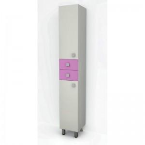 Пенал ДОМИНО (2 ящика) (цвет розовый) (TIVOLI)