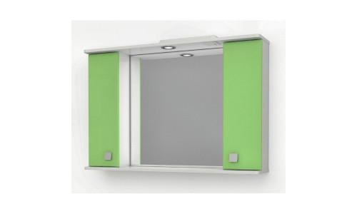 Шкаф зеркальный ДОМИНО 105 с/о (цвет фисташковый) (TIVOLI) купить недорого в Москве