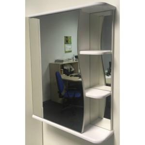 Шкаф зеркальный Афина волна 50 (TIVOLI)