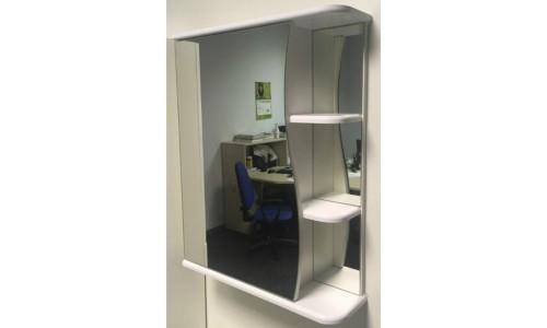 Шкаф зеркальный Афина волна 50 (TIVOLI) купить недорого в Москве