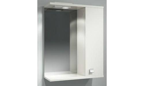 Шкаф зеркальный ДОМИНО 55 правый с/о (TIVOLI) купить недорого в Москве