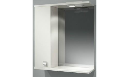 Шкаф зеркальный ДОМИНО 62 левый с/о купить недорого в Москве