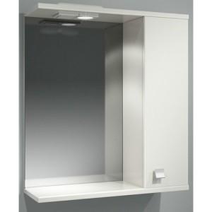 Шкаф зеркальный ДОМИНО 62 правый с/о