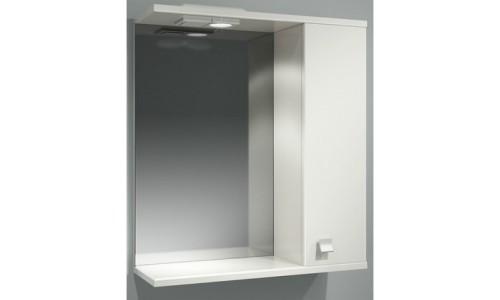 Шкаф зеркальный ДОМИНО 62 правый с/о купить недорого в Москве