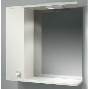 Шкаф зеркальный ДОМИНО 70 левый с/о (TIVOLI)
