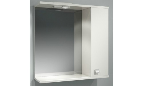 Шкаф зеркальный ДОМИНО 70 правый с/о (TIVOLI) купить недорого в Москве
