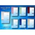 Зеркало Монако Люкс 75 с подсветкой