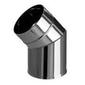 Колено угол 135º (439/0,8 мм) Ф110 нерж.