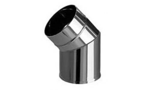 Колено угол 135º (430/0,5 мм) Ф110 нерж. купить недорого в Москве