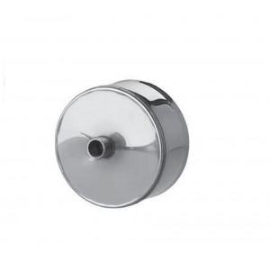 Заглушка с конденсатоотводом (430/0,5 мм) Ф250 внутреняя нерж.