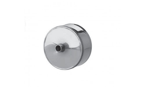 Заглушка с конденсатоотводом (430/0,5 мм) Ф150 внутренняя нерж. купить недорого в Москве