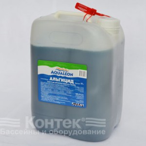 """Химия для бассейнов: Альгицид непенящийся """"Aqualeon"""" (5 л) 5 кг"""