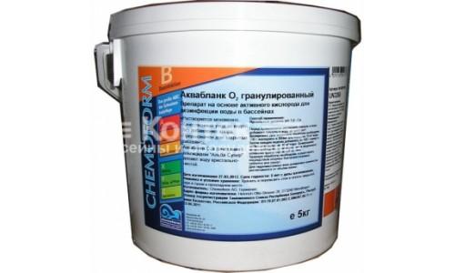 Аквабланк О2 гранулированный (Аква - клар) ( 5 кг ) купить недорого в Москве