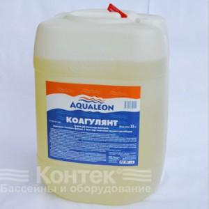 """Химия для бассейнов: Коагулянт """"Aqualeon"""" (30 л) жидкий 35 кг"""