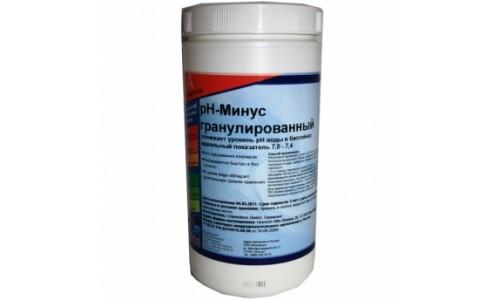 Химия для бассейнов: РН минус гранулированный (Аква - минус) (1,5 кг) купить недорого в Москве