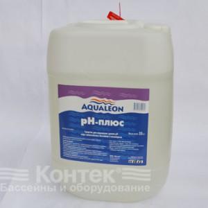 """Химия для бассейнов: Регулятор Рн-«плюс» """"Aqualeon"""" (30 л) жидкий 35 кг"""