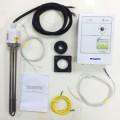 Электрокомплект для котла КЧМ 5 5 кВт (пульт, блок тэн, 2 датчика, кабель, футорка, фланец)