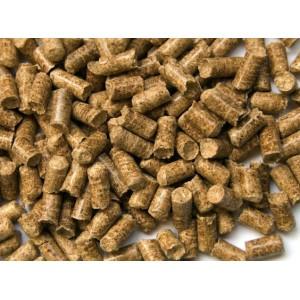 Пеллеты 6 или 8 мм серые (хвоя, мешок 25 кг.)