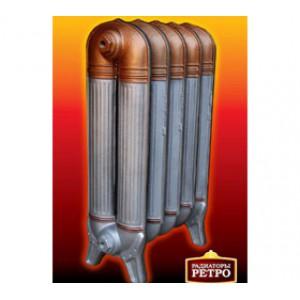 Чугунный ретро радиатор Fakora Dragon 560/81 (Barton, RetroStyle) ( 1 секция )
