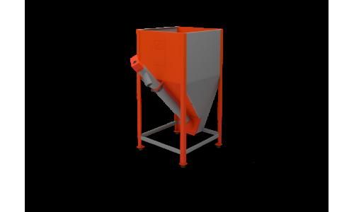 Бункер напольный для пеллетной горелки Комфорт-42 купить недорого в Москве