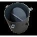 Патрубок дымохода с шибером для котла КЧМ (6, 7, 8, 9 секций)
