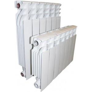 Полный биметаллический радиатор Alustal 500/100 (Алустал)