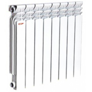 Алюминиевый радиатор ASB - 104 D 80-2 ( 1 секция )