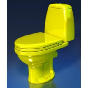 Компактный унитаз Style 1215 (770х680х370) желтый