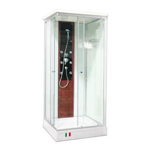 Душевая кабина LIVORNO (LVL-077T) тонированное стекло