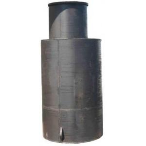 Кессон цилиндрический с горловиной (диаметр 1 метр высота 2 метра)