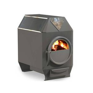 Отопительная печь Ермак Термо 100-C со стеклом