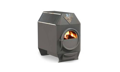 Отопительная печь Ермак Термо 200-C со стеклом купить недорого в Москве