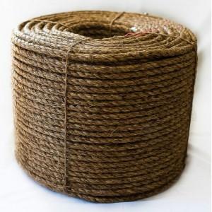 Манильский канат декоративный длина в бухте - 220 м, диаметр 10 мм